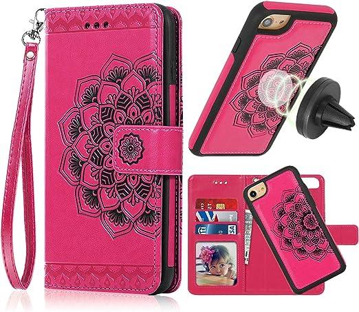 Brown Color With Metal Frame Gift For Women Wallet Bag For Handbag Handmade Case Document wallet Linen Phone Case Phone Case