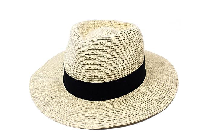 Fenside Country Clothing Sombrero Panamá - para mujer Beige natural 60 cm   Amazon.es  Ropa y accesorios 8d87f772644