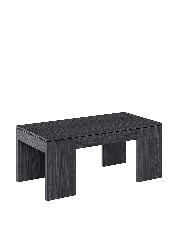 Tables consoles zen cart l 39 art du e commerce - Kendra table basse grise plateau relevable ...