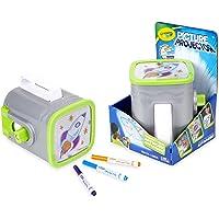 Crayola CC040052 Kids' Drawing Projector - Proyectores de Dibujo para niños (5 Año(s), Niño/niña, Gris, Caja, AA, 165.1 mm)