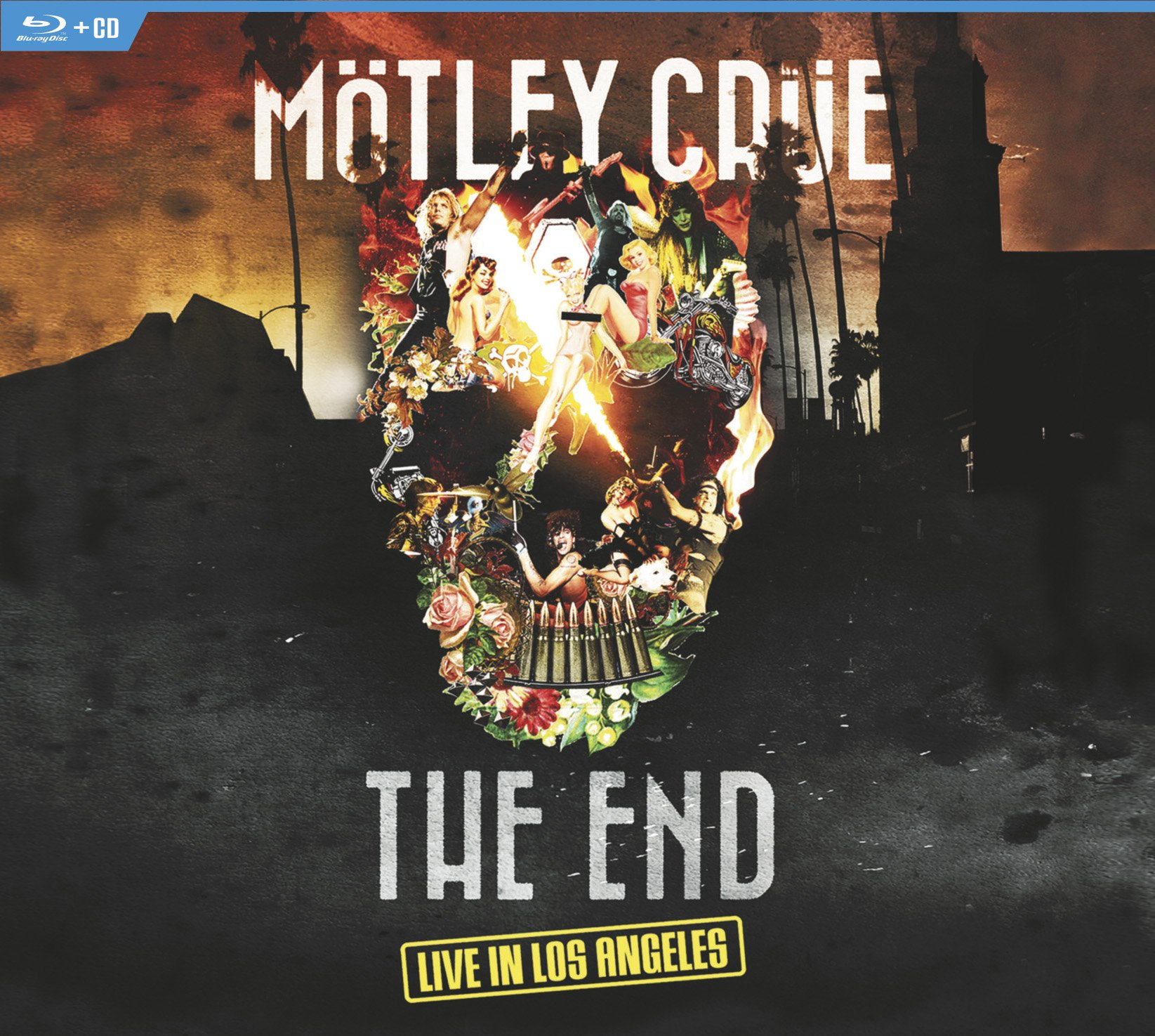 Blu-ray : Motley Crue - The End - Live In Los Angeles (With CD, 2 Disc)