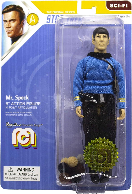 """SPOCK 8"""" Action Figure Mego STAR TREK MR"""