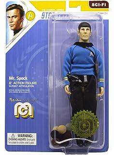 """Mego Capitaine Kirk /& Spock Star Trek 8/"""" Figurines Lot Set"""