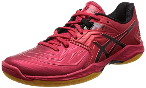 half off eb6cc 39564 ASICS Men s Blast Ff Samba Black Team Handball Shoes-9 UK India (