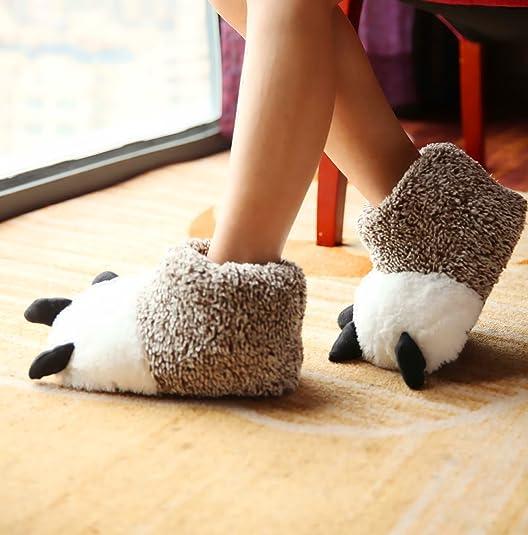 Polar Bear Paw Slippers