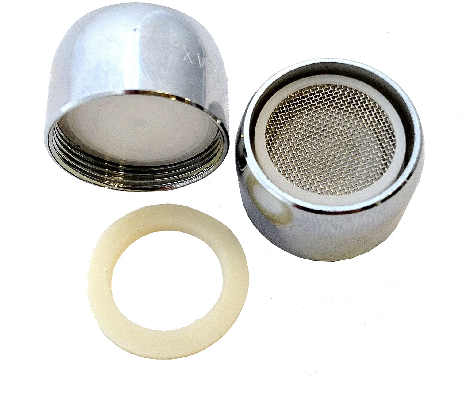 Female Faucet End Aerator Water saving / Soft White Aerated Stream ...