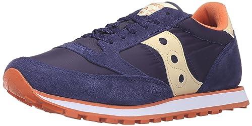 Saucony Women's Jazz Low Pro Running Shoes, Blue/Cream, 6 B-Medium