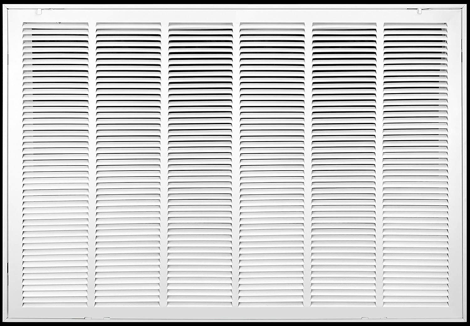 """30"""" X 20"""" Steel Return Air Filter Grille [Fixed Hinged] for 1-inch Filters 