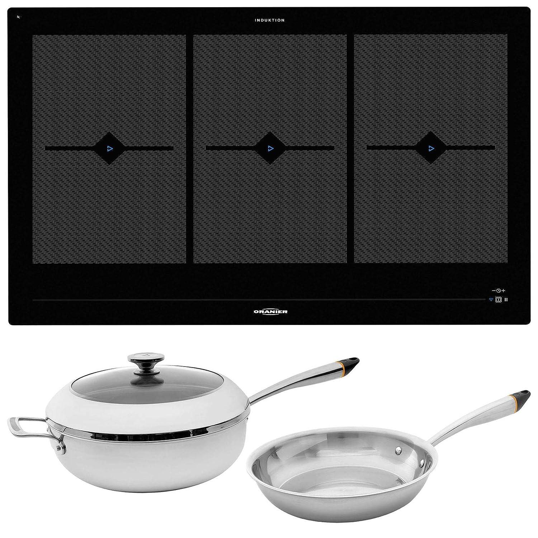 Oranier FLI 2088 be cook - Placa de inducción (80 cm, incluye ...