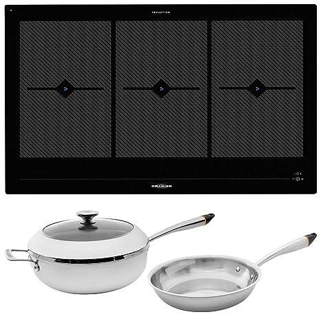 Oranier FLI 2088 be cook - Placa de inducción (80 cm ...