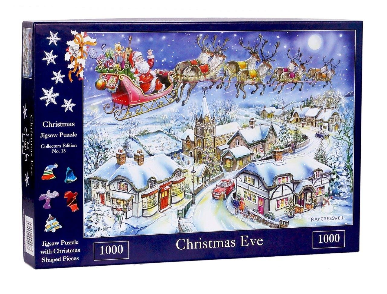 The House of Puzzles 1000 Piece Jigsaw Puzzle - 2018 Christmas ...