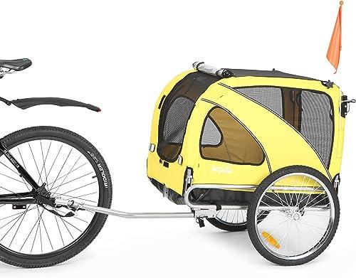 Sepnine-&-Leonpets-Dog-cart-of-2-in1-Medium-pet-Dog-Bike-Trailer