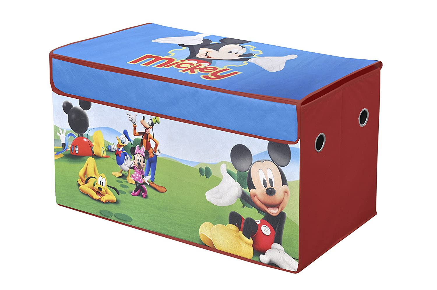 Merveilleux Amazon.com: Disney Mickey Mouse Clubhouse Collapsible Storage Trunk: Toys U0026  Games