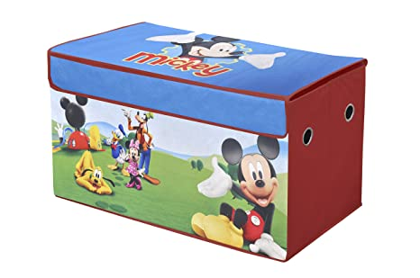 Amazon.com: Disney Mickey Mouse Clubhouse Collapsible Storage Trunk ...