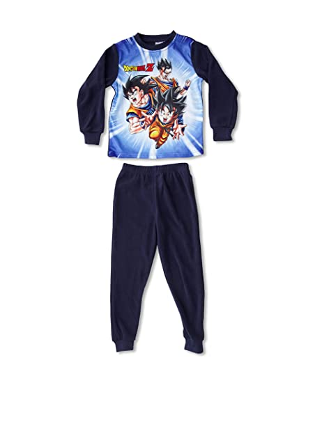 Dragon Ball Pijama Azul Marino 12 años (152 cm)