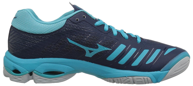 Mizuno Women's Wave Lightning Women's Z4 Volleyball Shoe B07826HL1P Women's Lightning 8 B US|Navy/Aqua Blue ce6ef5