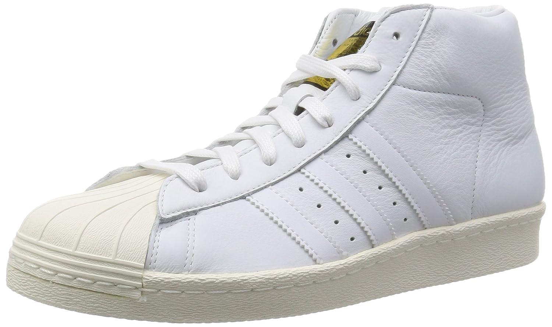 big sale f13c1 7a7c7 Amazon.com  adidas Originals Mens Pro Model Vintage DLX Trainers US11  White  Fashion Sneakers