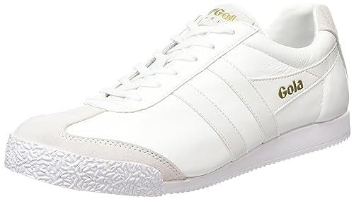 GolaHarrier Leather - Zapatillas Mujer, Color Blanco, Talla 40 EU