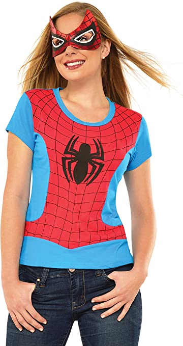 Kit disfraz de Spidergirl Classic Marvel para mujer: Amazon.es ...