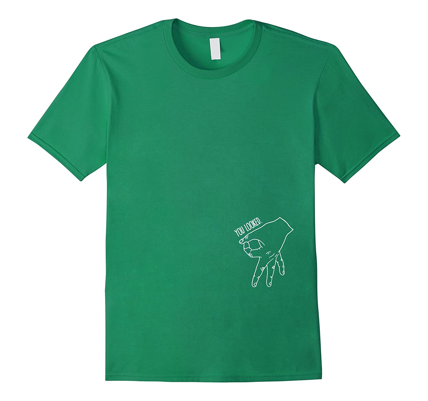 You Looked The Finger Game Shirt Circle Game Shirt-RT