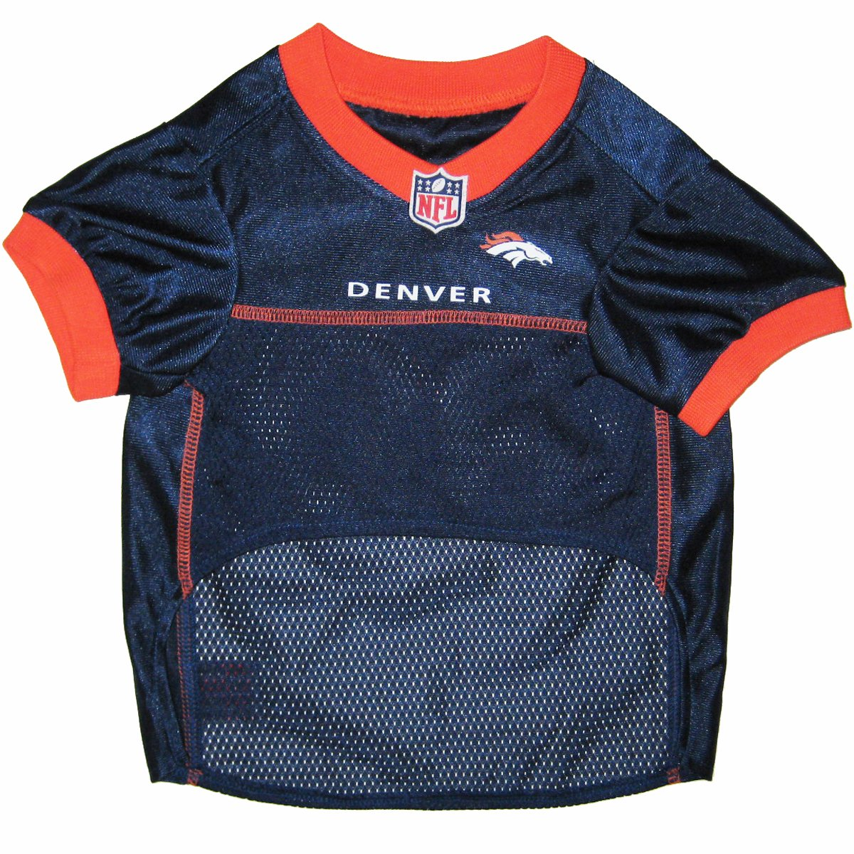 denver broncos jersey. 32 NFL Teams Available. - Comes In 6 Sizes. Football Pet Jersey. Sports Mesh Dog Jersey Outfit. : Dresses Supplies Denver Broncos N