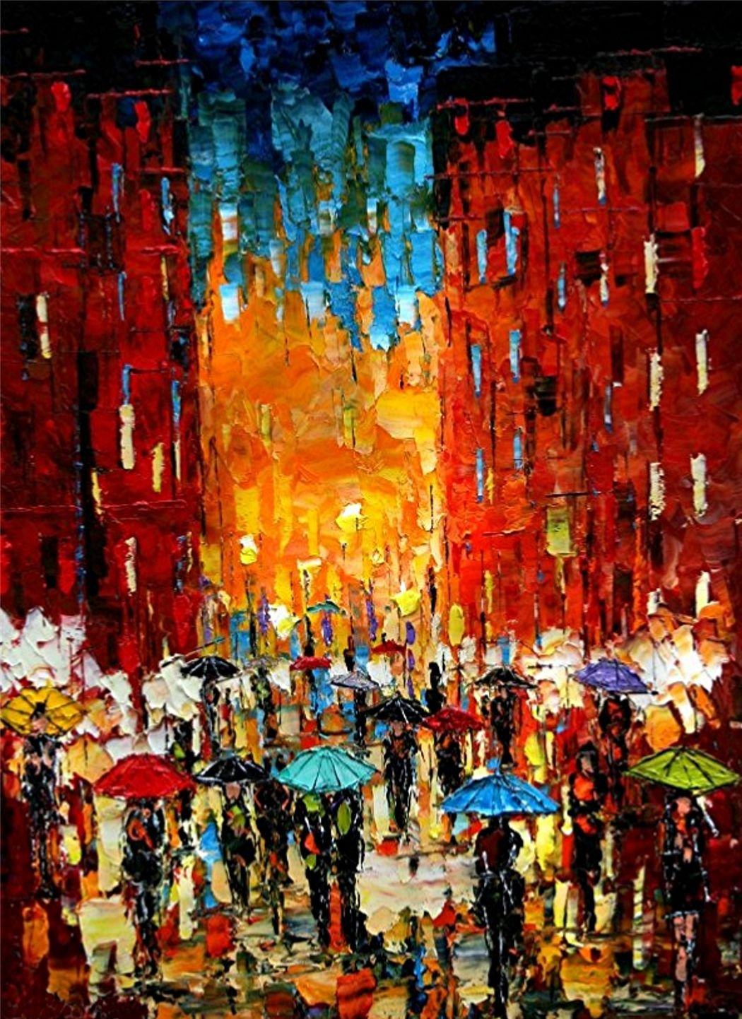 Big City Dreams, Limited Edition, Signed and Numbered Print by