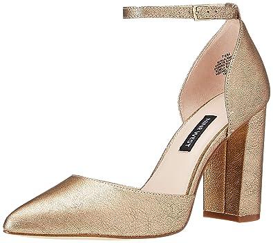 c8147000765d Nine West Women s AILAMINA Metallic Heeled Sandal
