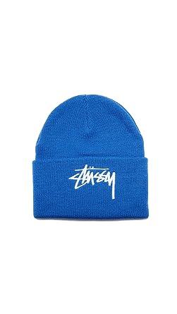 Stussy Beanie - Stock Cuff blue size  OSFA (One size fits any ... 2538a1c5f
