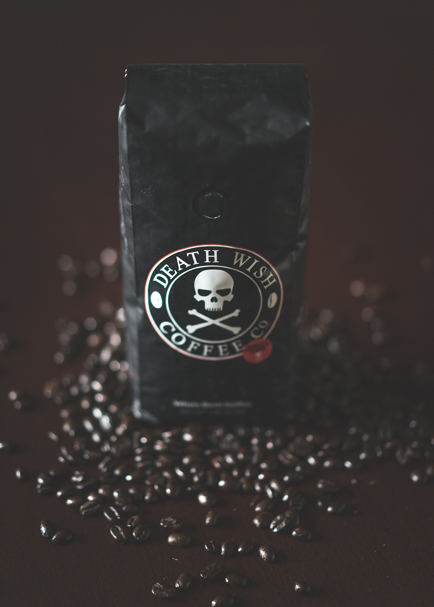 Death Wish Whole Bean Coffee Bundle Deal, The World's Strongest Coffee, Fair Trade and USDA Certified Organic - 2 lb by Death Wish Coffee Co. (Image #5)