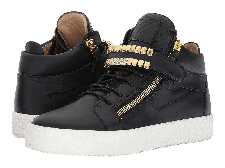 [ジュゼッペザノッティ] Giuseppe Zanotti メンズ May London Mid Top Grill Sneaker スニーカー [並行輸入品] B0747RSP7L