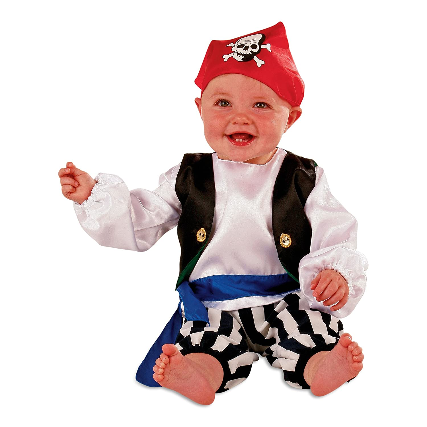 Baby Toddler Boy PIRATE FANCY DRESS COSTUME Slimy Toad 0 6