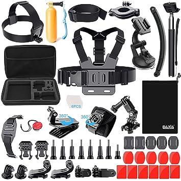 Amazon.com: Tecnología de baxia Kit de accesorios para GoPro ...