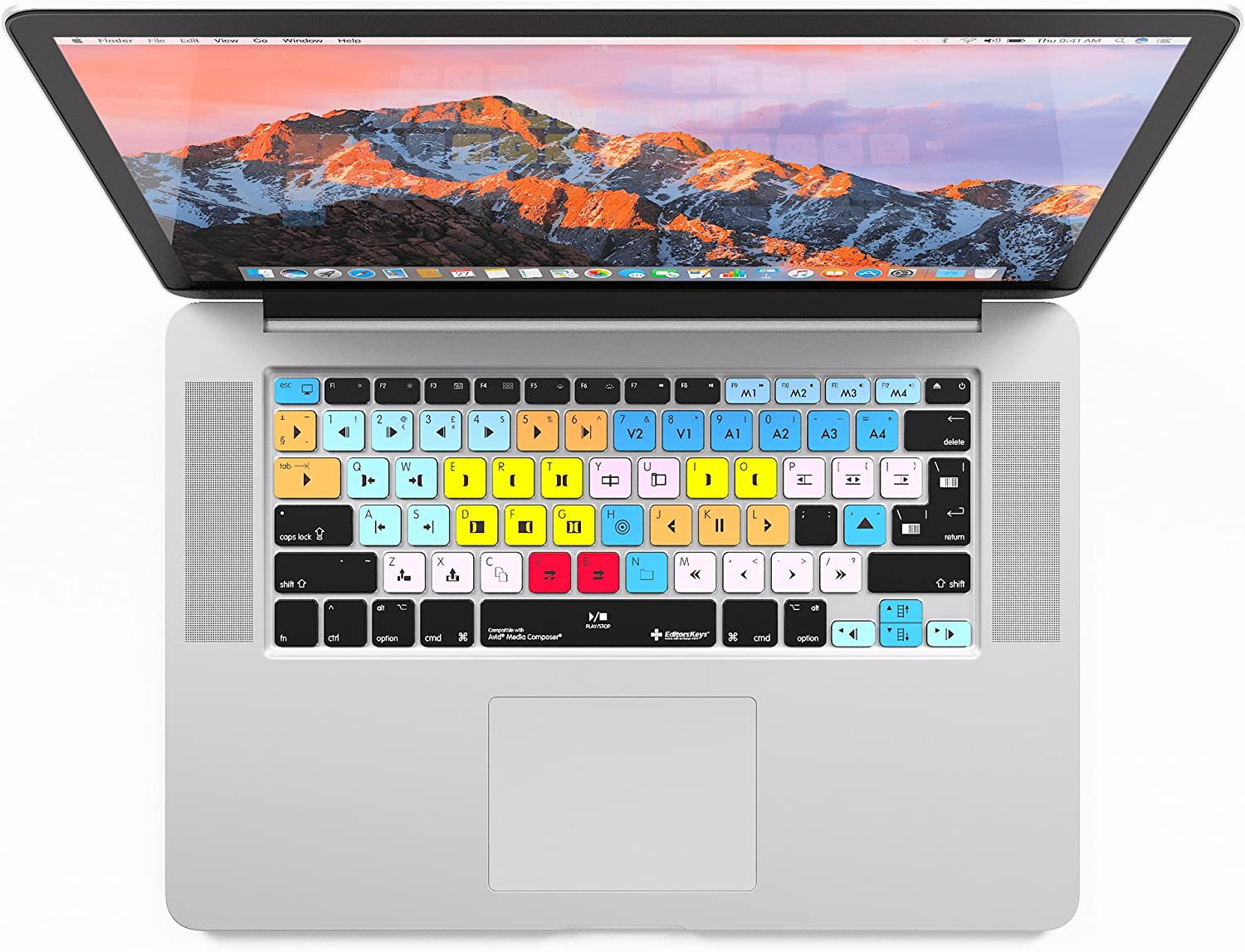 "Avid Media Composer Keyboard Cover | Fits Wireless Apple MacBook Pro Retina 13"" and 15"""