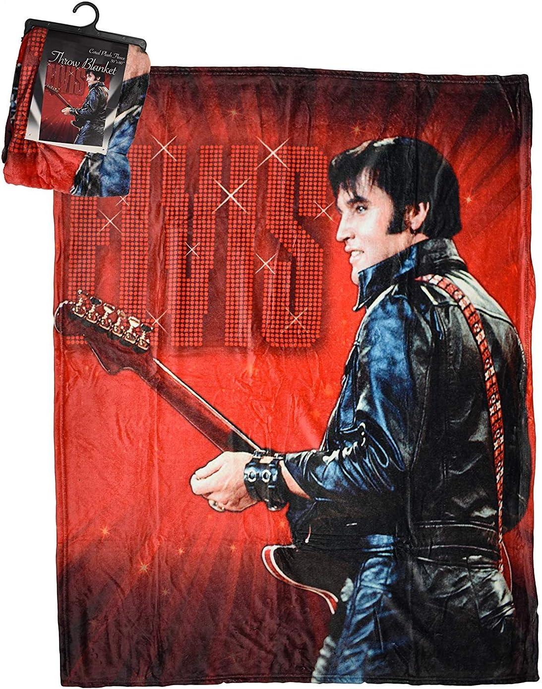 Elvis Throw Blanket