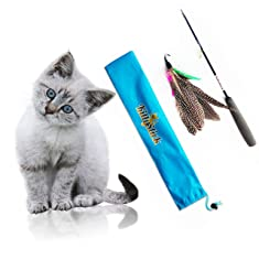 Easyology Pets Feather KittyStick Cat Toy