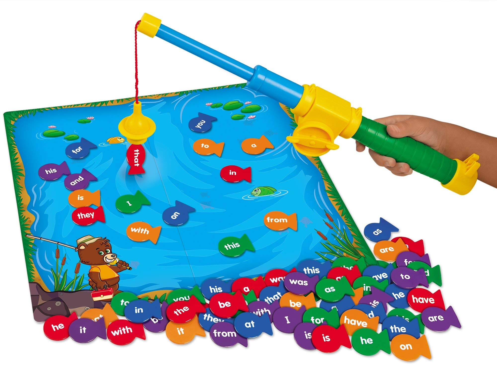 Lakeshore Fishing for Sight-Words Game - Level 1