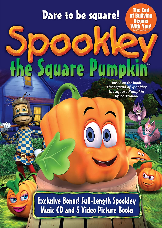 amazon com spookley the square pumpkin dvd cd set sonja ball