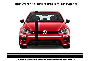 Vw Polo Racing Stripe Type 2 Amazon In Car Motorbike
