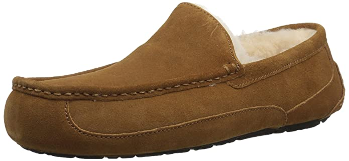 UGG Men's Ascot Slipper, Chestnut, 09 M US