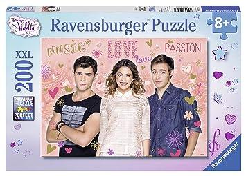 ravensburger puzzle 12706 child classique violetta tomas leon 200 pieces xxl - Jeux De Violetta Et Leon