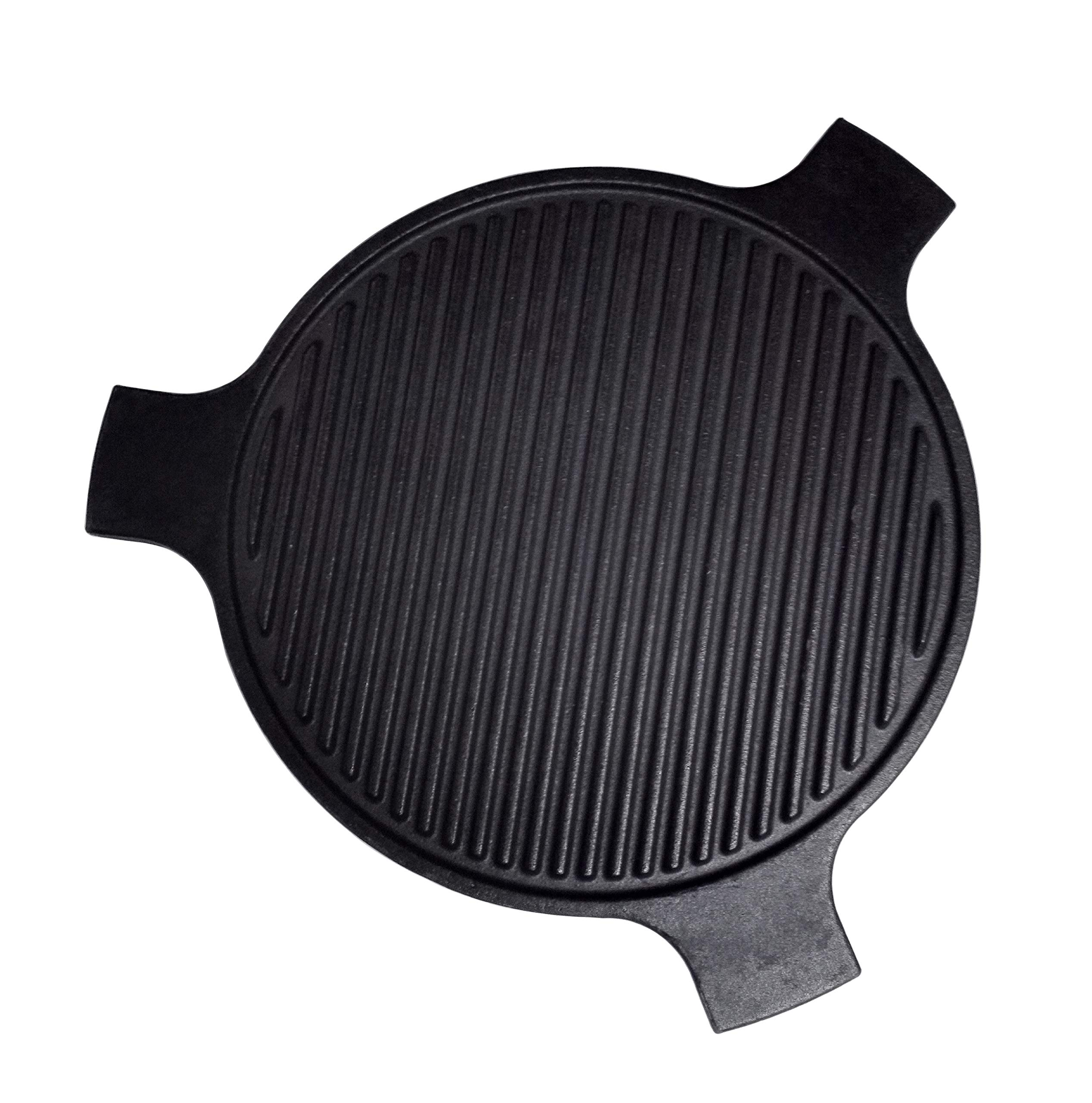 Broilmann Cast Iron Plate Setter - Fits LARGE Big Green Egg by Broilmann