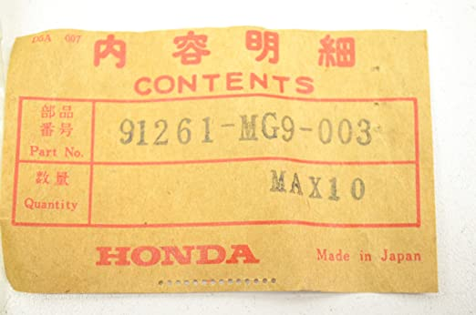 QTY 1 35X54X8 Honda 91261-MY3-003 OIL SEAL