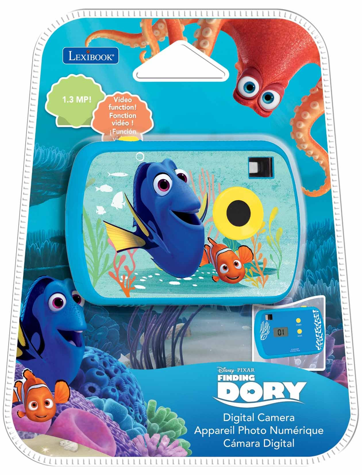 Finding Nemo Dory 1.3MP Digital Camera by Finding Dory (Image #5)