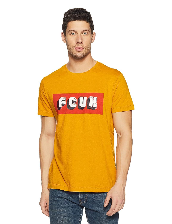 French Connection Men's PrintedSlim Fit T-Shirt Size M,L