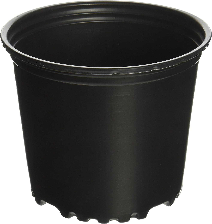 Viagrow 1 Gal. Plastic Nursery Pots (3.78 Liters) 10-Pack: Garden & Outdoor