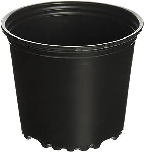 Viagrow 1 Gal. Plastic Nursery Pots (3.78 Liters) 10-Pack