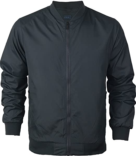 Chaqueta Bomber MA1 para hombre, chaqueta Harrington para ...