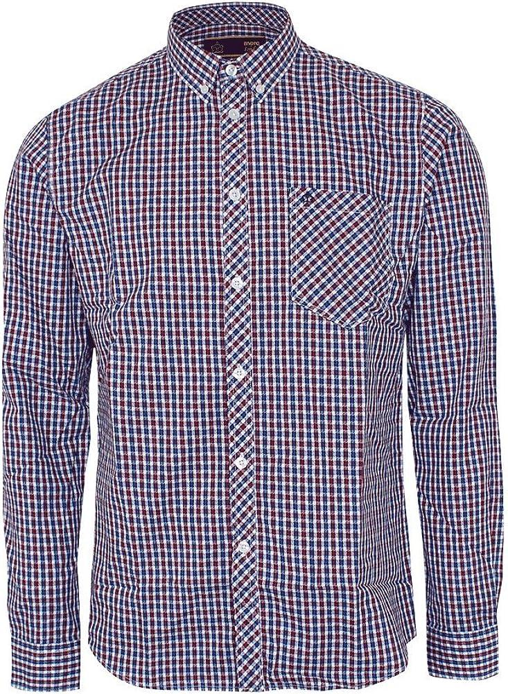 merc Pitman - Camisa (larga) cuadros S: Amazon.es: Ropa y accesorios