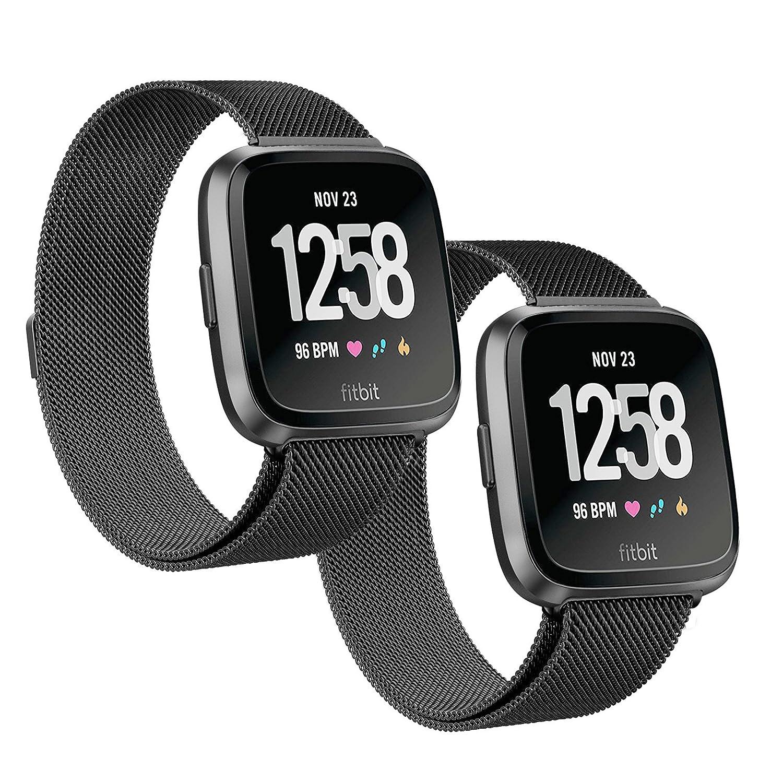 fitbit – smartwatch versa – special edition carbón - negro