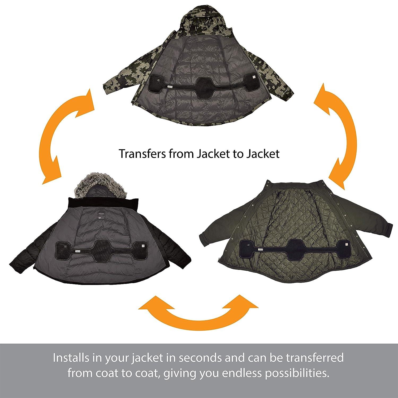 79e76e52 Amazon.com: Torch 2.0 Universal Coat Heater & Warmer   Fits Any Jacket   3  Heat Zones & Settings   Battery-Operated   Portable   Unisex   Medium: Home  ...